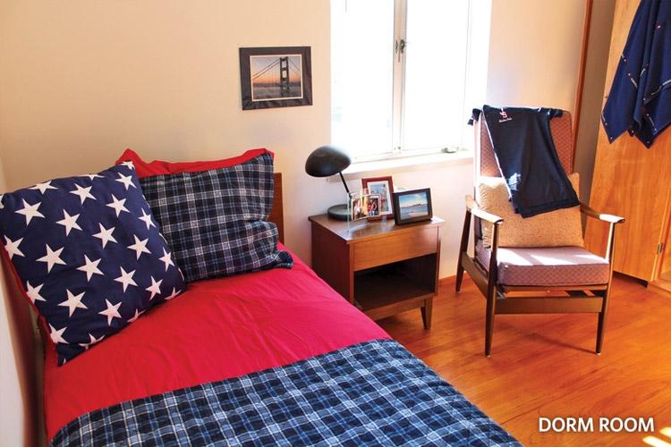 Студенческая комната Justin-Siena High School