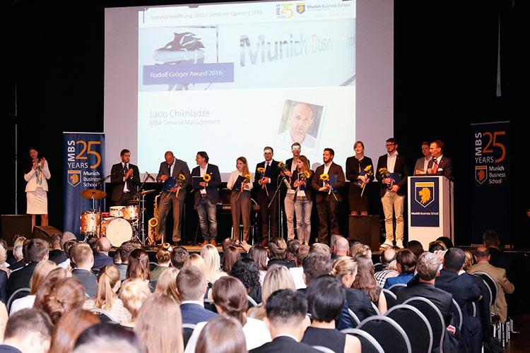 Торжественное награждение преподавателей Munich Business School