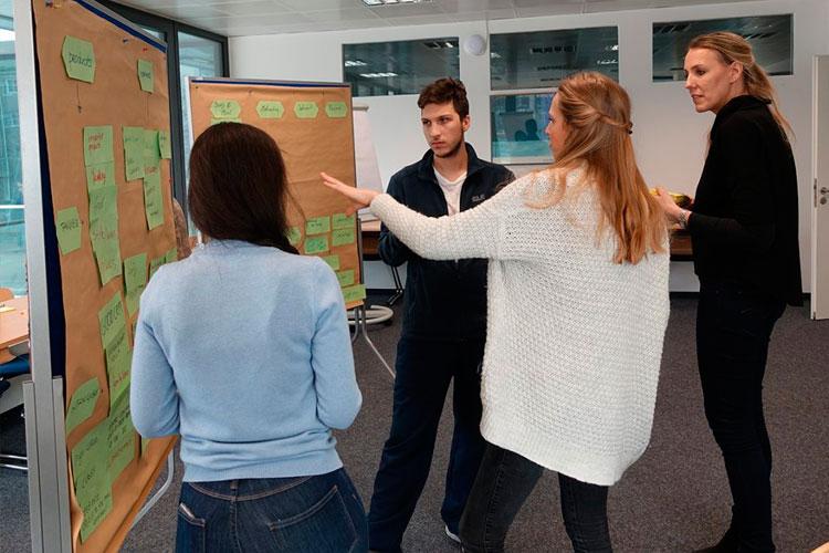Работа над проектом студентов Munich Business School