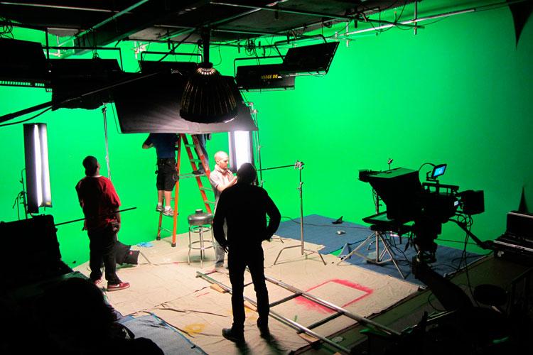 Съемочная площадка Vancouver Film School