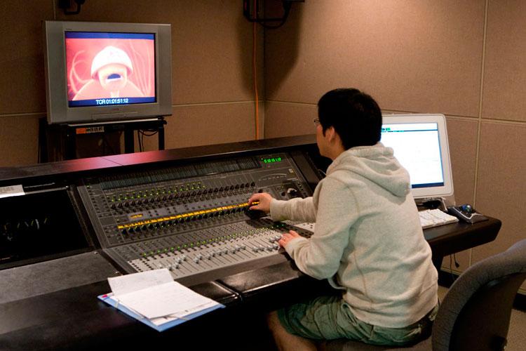 Работа с анимацией в Vancouver Film School