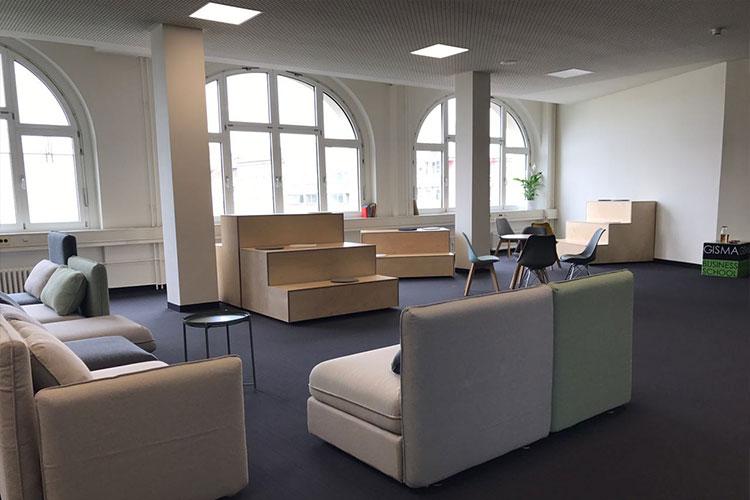 Лаунж-зона в GISMA Business School