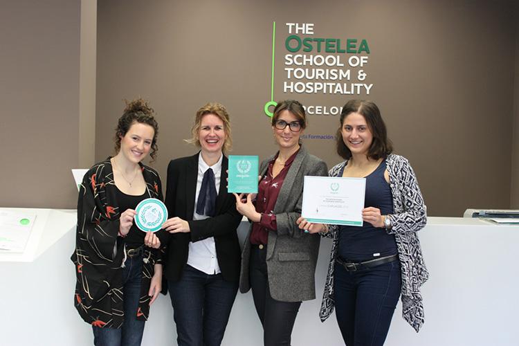 Студенты The Ostelea School of Tourism & Hospitality
