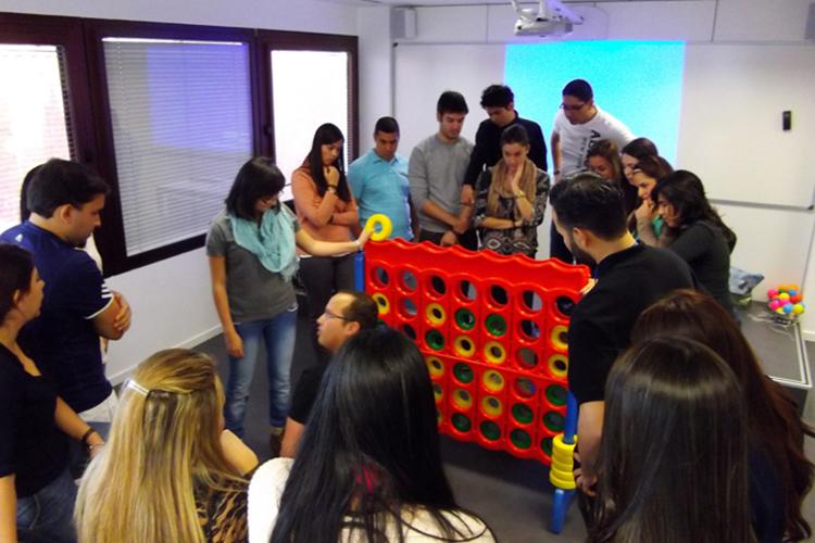 Студенты EAE, Barselona на занятии