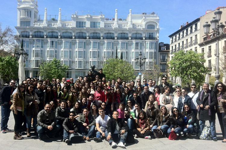 Студенты EAE, Barselona на экскурсии