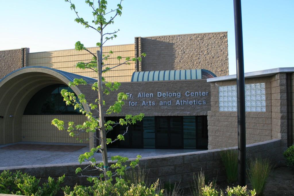 Fr. Allen DeLong Center for Arts and Athletics in Chaminade College Preparatory School