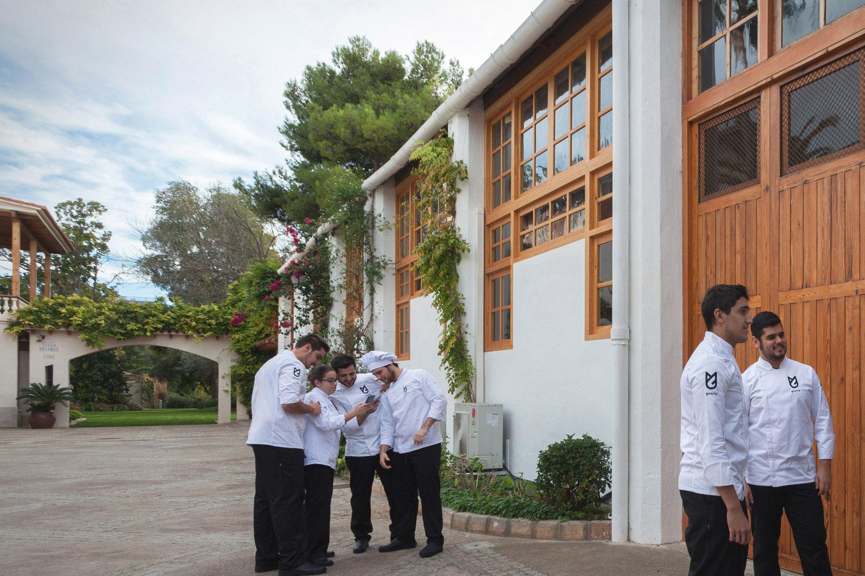 Кампус GASMA расположен на Вилла Долорес, где созданы все условия для обучения гастрономическим премудростям