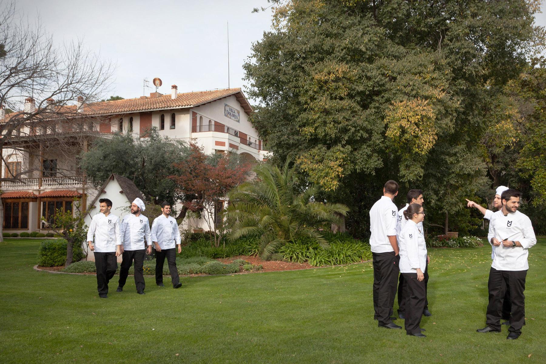 Вилла Долорес, где расположен кампус GASMA