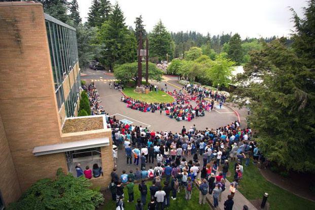 Oregon Episcopal School. Административный корпус