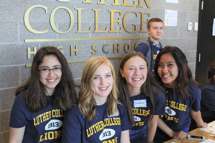 Студенты Luther College High School