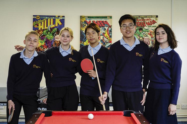 Студенты Bishopstrow College