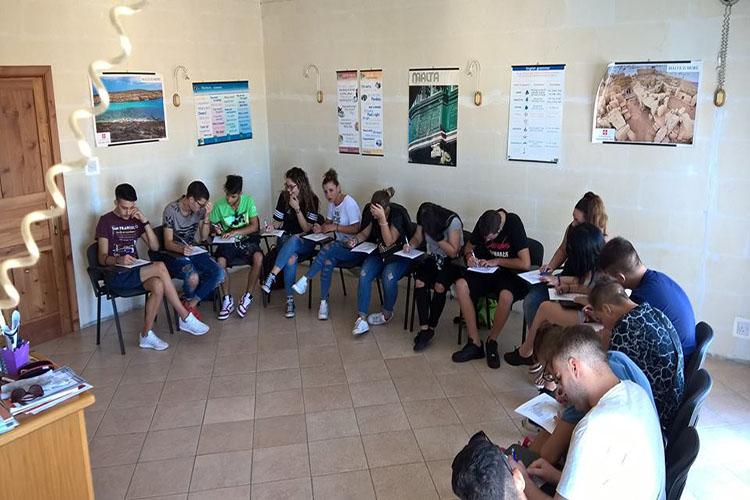Учебная аудитория в Gateway Junior Programme, Malta