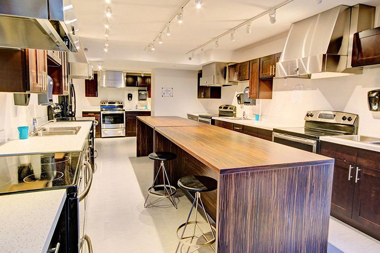 Кухня в резиденции