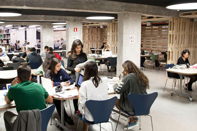 Библиотека в IE Business School