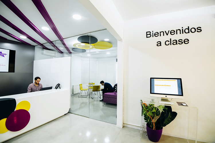 Внутри школы Hispania, Valencia