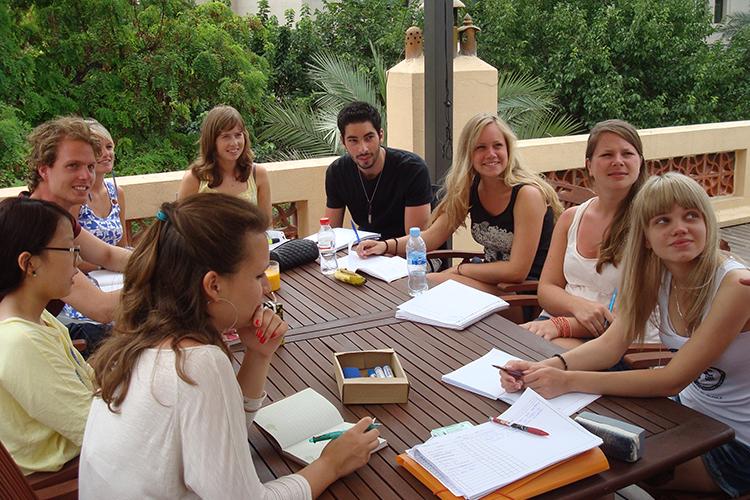 Студенты школы Hispania, Valencia