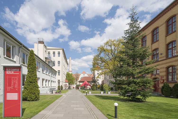 Кампус школы GLS Berlin