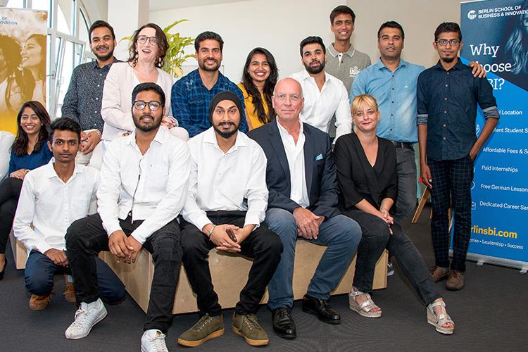 Студенты Berlin School of Business & Innovation