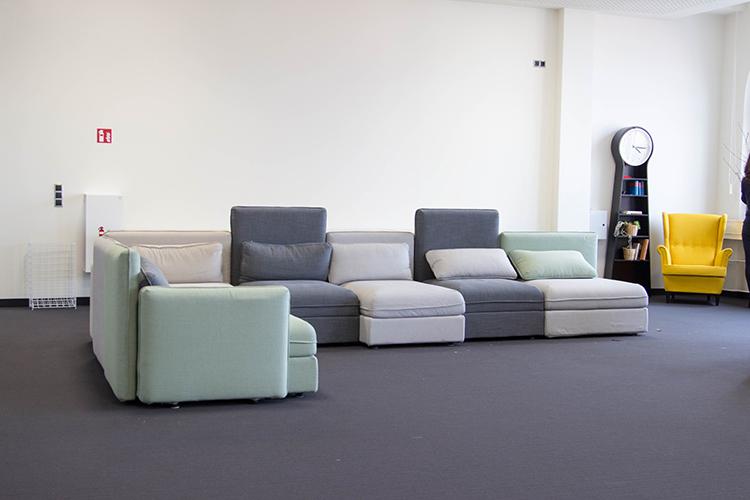 Лаунж-зона в Berlin School of Business & Innovation