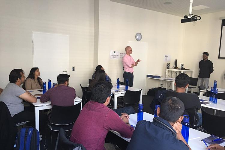 Учебный процесс в Berlin School of Business & Innovation