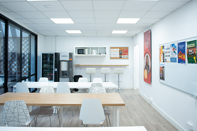 Кафетерий в GBSB Global Business School