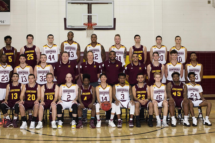 Баскетбольная команда Concordia University Chicago