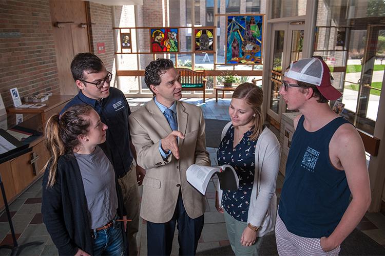 Студенты Concordia University Chicago