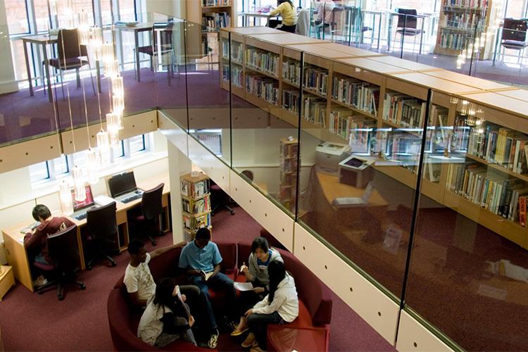 Библиотека Concord College
