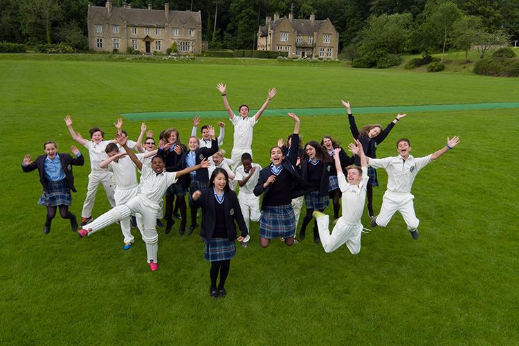 Ученики школы Kingham Hill School