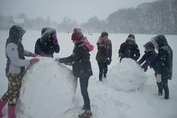 Зимние развлечения в Kingham Hill School
