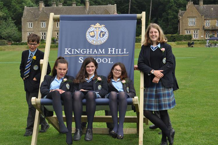 Ученики Kingham Hill School