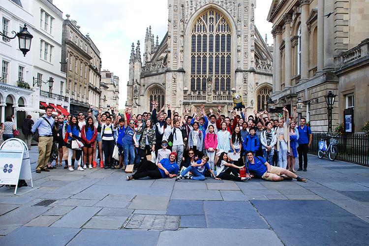 Экскурсия студентов Etherton Education