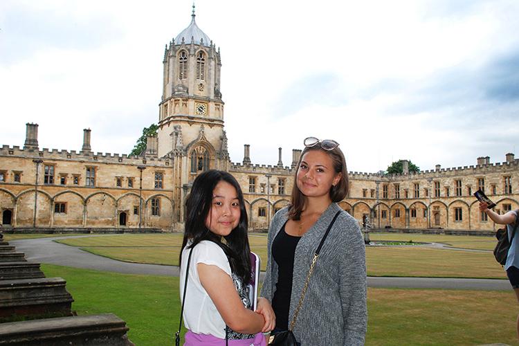 Поездка в Оксфорд студентов Etherton Education