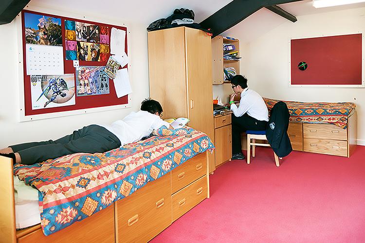 Спальня в Wellington School