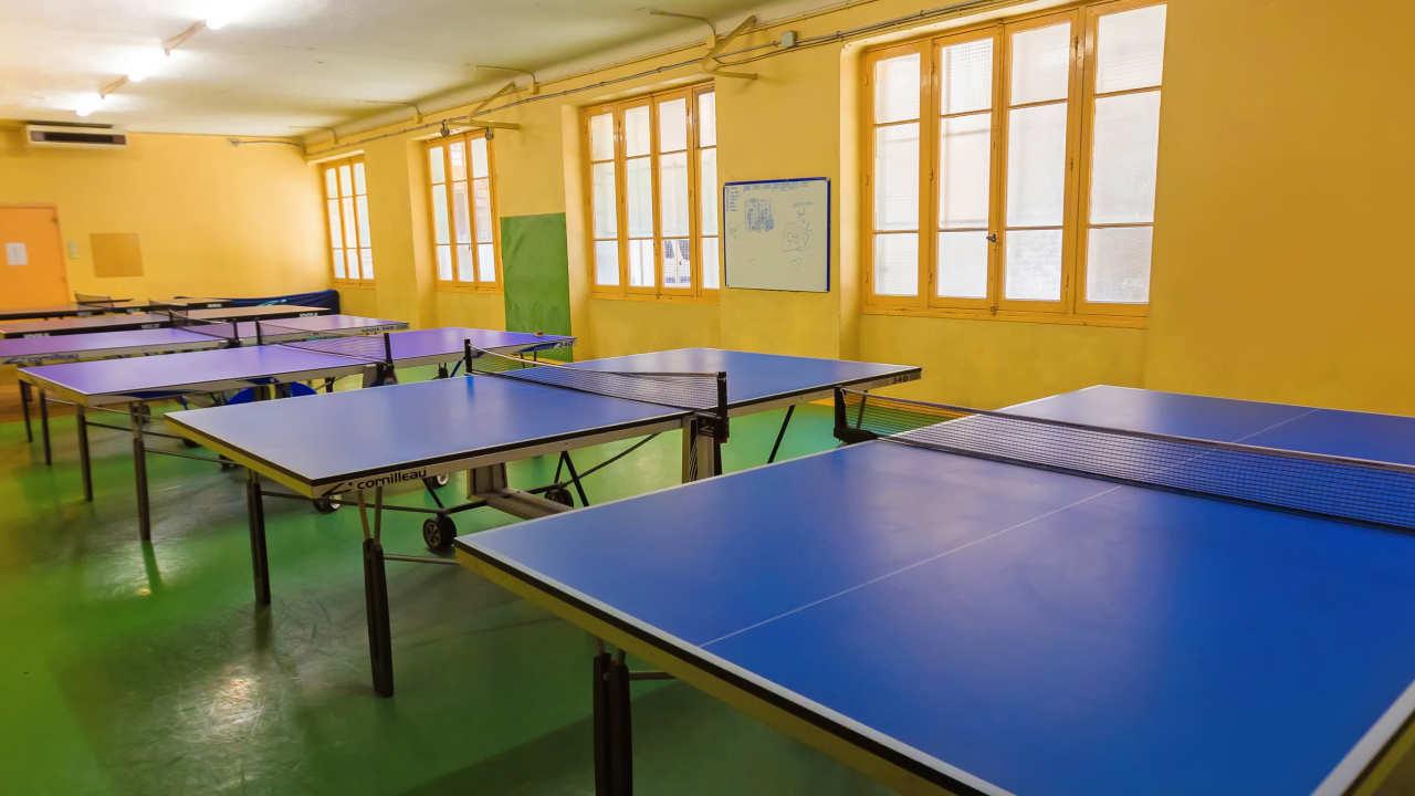 Спортивный зал в языковой школе Alpadia, Nice