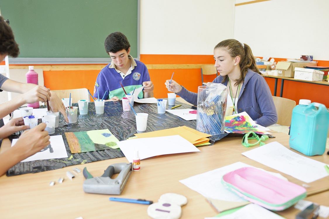 Дозвілля в мовній школі CERAN, Ferrieres