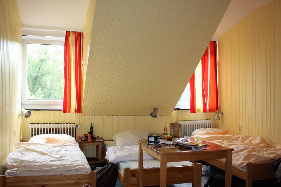 Спальня в школе GLS, Berlin Villa