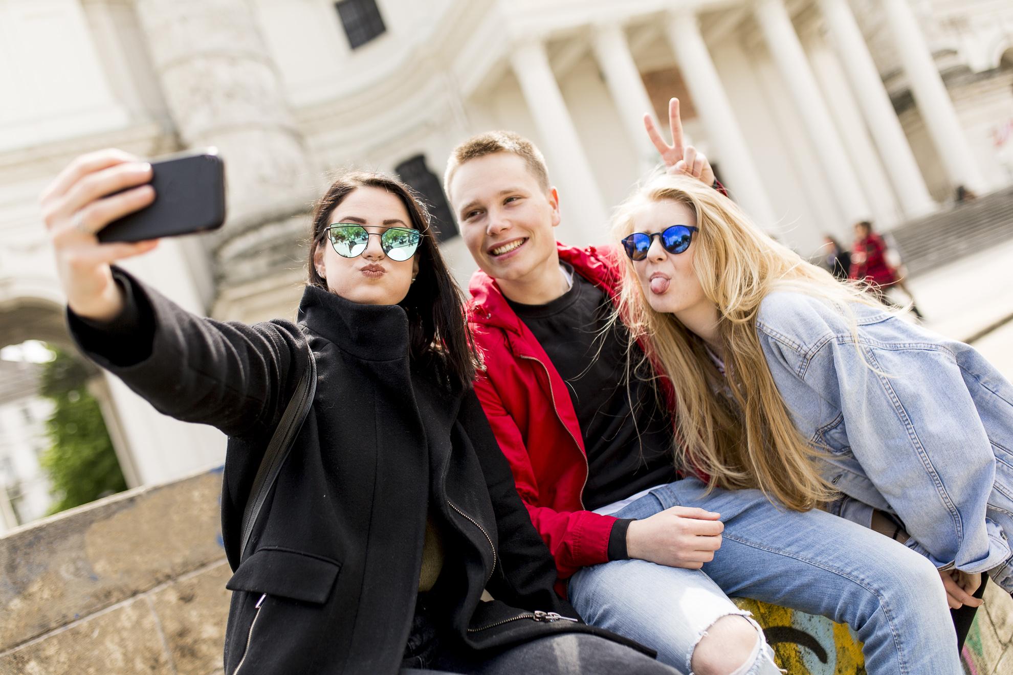 Студенты школы DID, Vienna