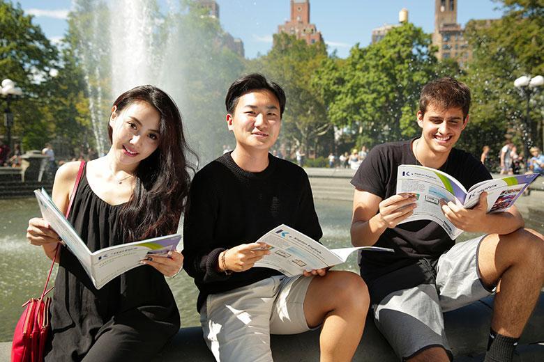Студенты Kaplan Central Park
