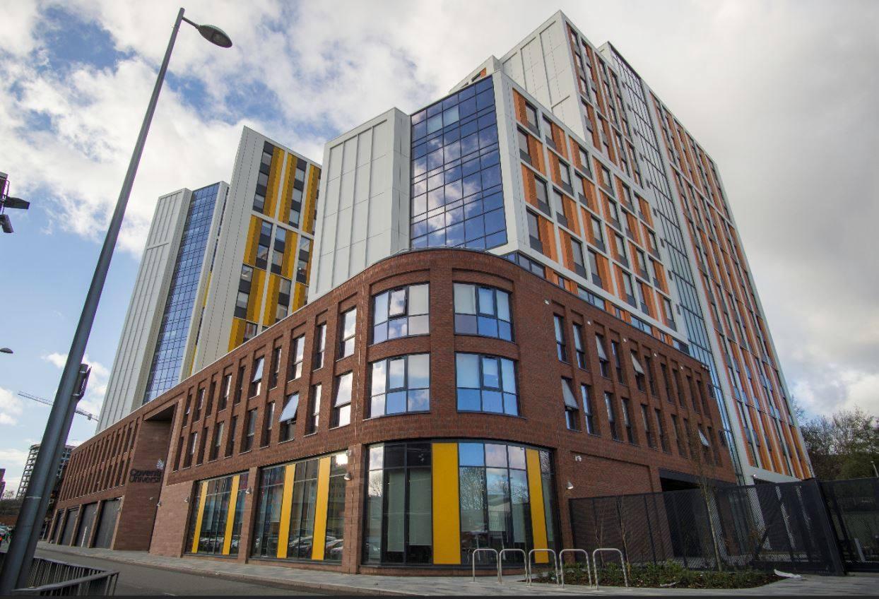 Одна зі студентських резиденцій Coventry University