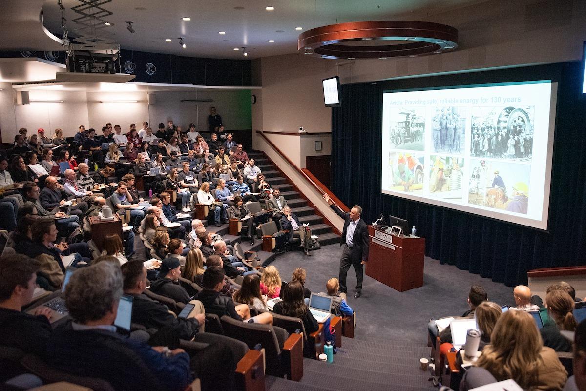 Лекция в Gonzaga University