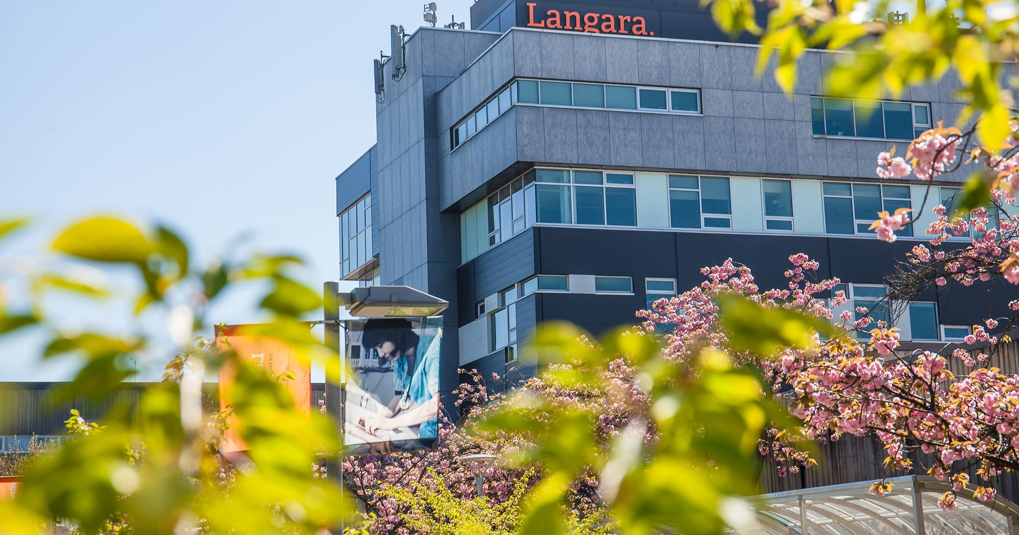 Главный корпус Langara College