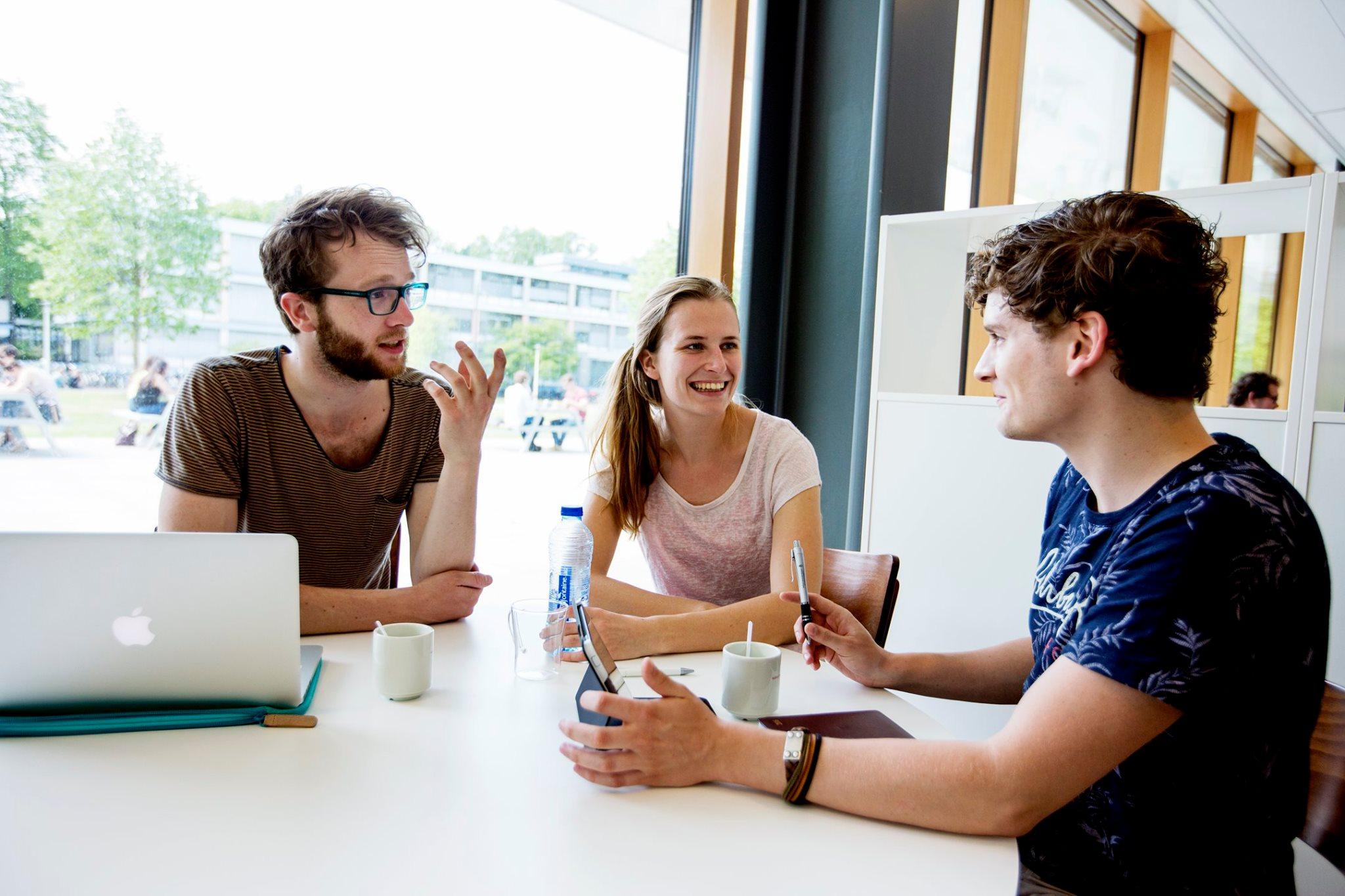 Студенты Radboud University