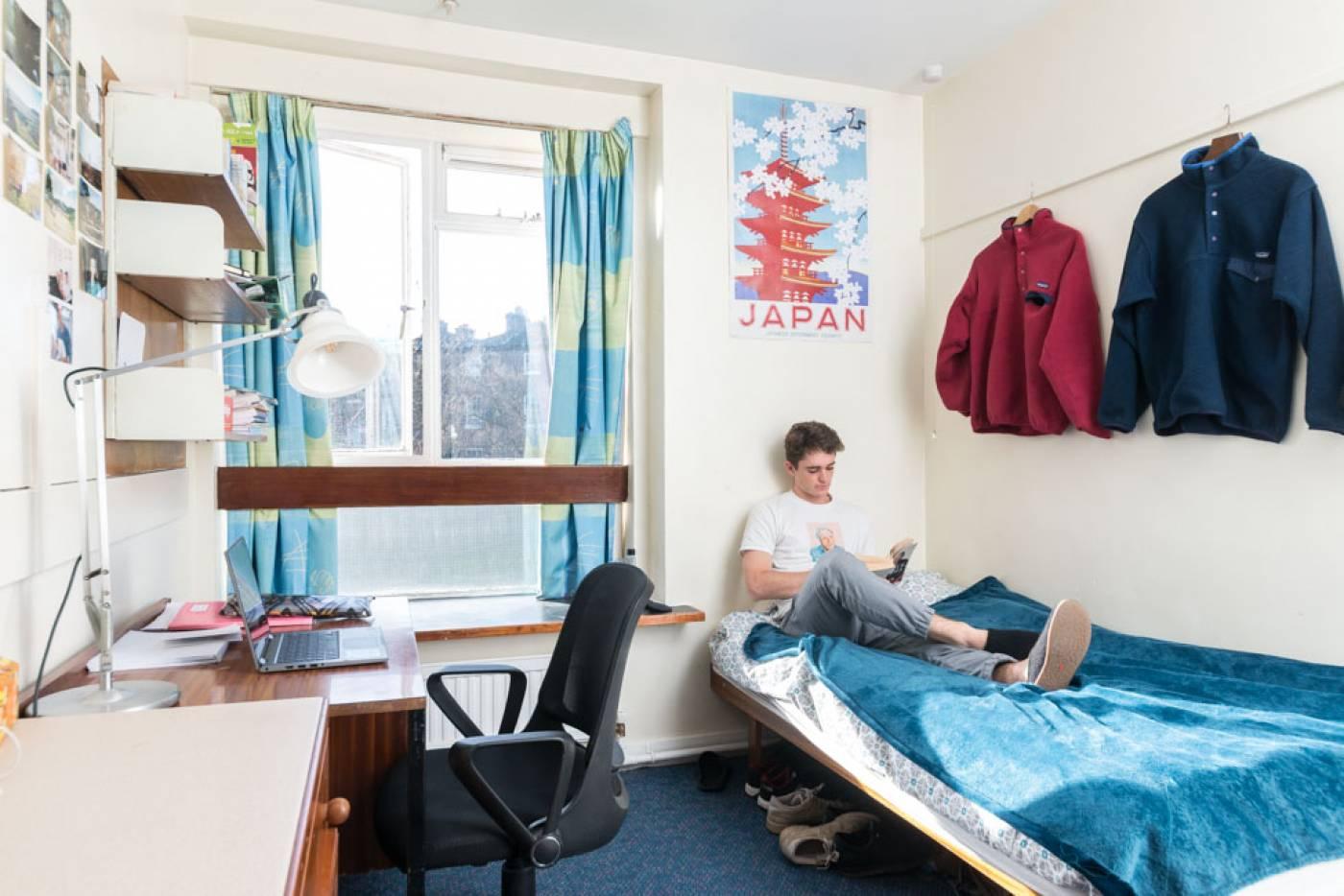 Проживание в UCL
